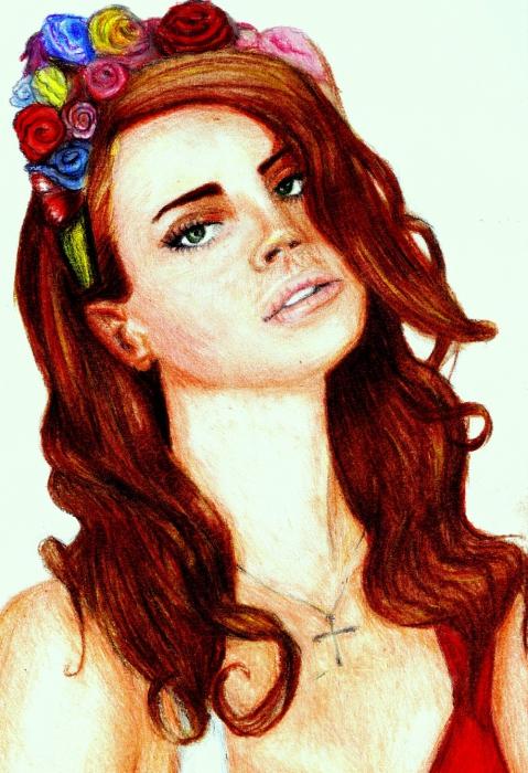 Lana Del Rey by vadiocher